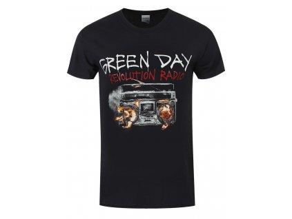 Pánske tričko GREEN DAY REVOLUTION RADIO COVER (Veľkosť XXXL)