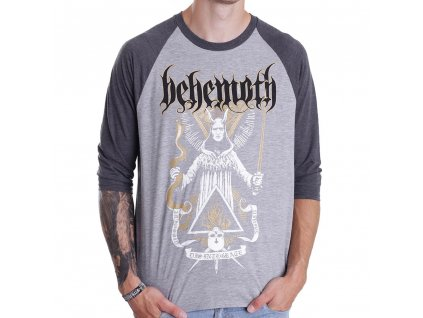 Pánske tričko s trojštvrťovým rukávom BEHEMOTH DISINTEGRATE (Veľkosť XXL)
