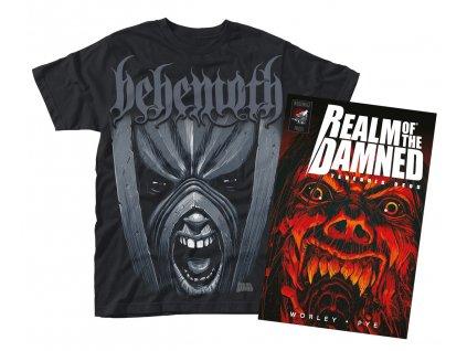 Pánske tričko REALM OF THE DAMNED BEHEMOTH (Veľkosť XXL)
