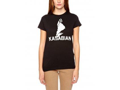 Dámske tričko Kasabian (Veľkosť XL)