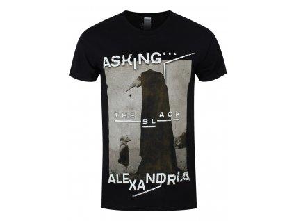 Pánske tričko Asking Alexandria THE BLACK ORIGINAL ART (Veľkosť XXL)