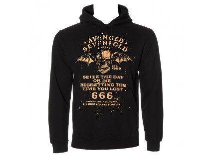 Pánska mikina Avenged Sevenfold SEIZE THE DAY (Veľkosť XXL)