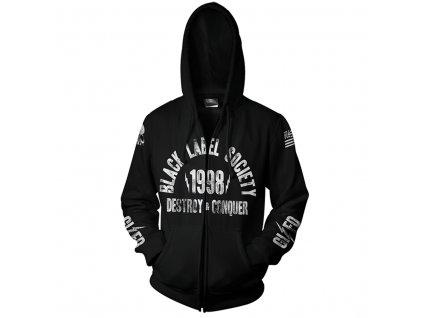 Pánska Mikina BLACK LABEL SOCIETY SDMF (Veľkosť XXL)