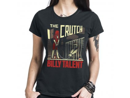 Dámske tričko BILLY TALENT THE CRUTCH (Veľkosť XL)