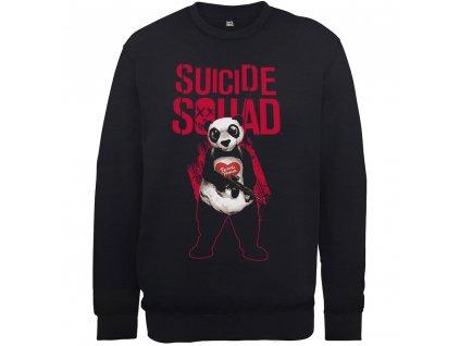 Pánska mikina SUICIDE SQUAD PANDA SQUAD (Veľkosť XXL)