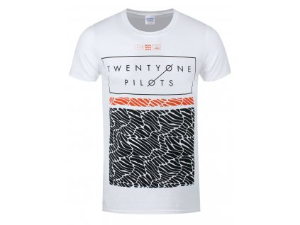 Pánske tričko TWENTY ONE PILOTS SCALE PATTERN STRIP