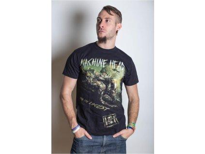 Pánske tričko Machine Head Scratch Diamond Cover (Veľkosť XXL)