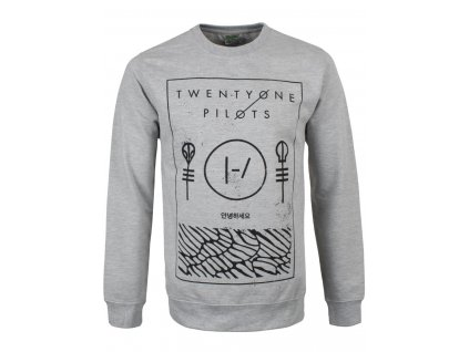 Pánska mikina TWENTY ONE PILOTS THIN LINE BOX