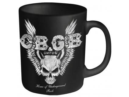 CBGB Skull Wings MUG