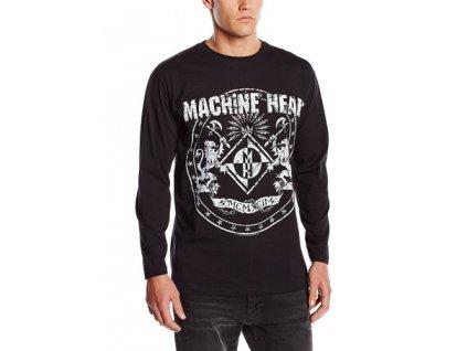 Pánske tričko s dlhým rukávom Machine Head (Veľkosť XXL)