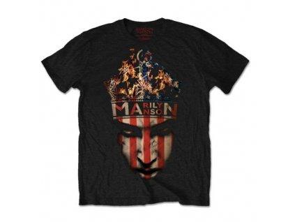 Pánske tričko Marilyn Manson (Veľkosť XXL)