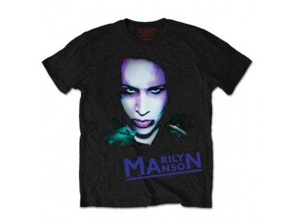 Pánske tričko Marilyn Manson Oversaturated (Veľkosť XXL)