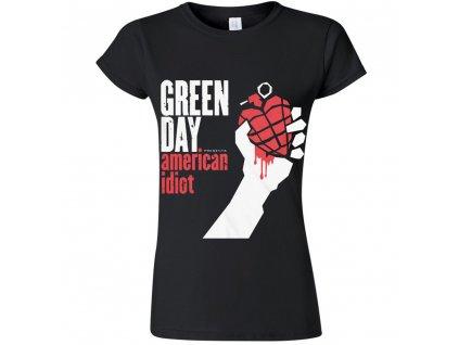 dámske tricko green day