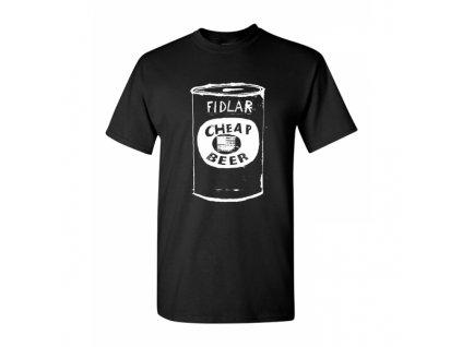 cheap beer tee black 3