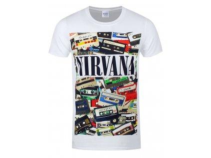 Pánske tričko NIRVANA CASSETTES
