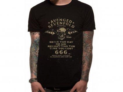 Pánske tričko Avenged Sevenfold SEIZE THE DAY
