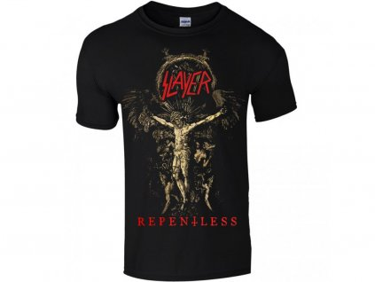 Pánske tričko Slayer Cruciform Skeletal