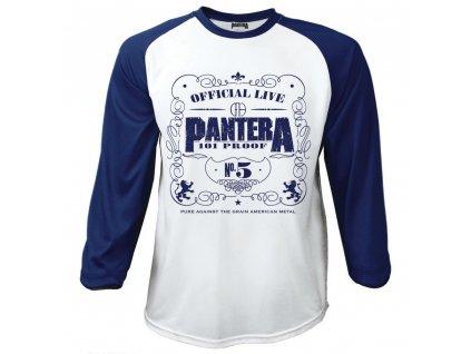 Pánske tričko s dlhým rukávom Pantera (Veľkosť XXL)