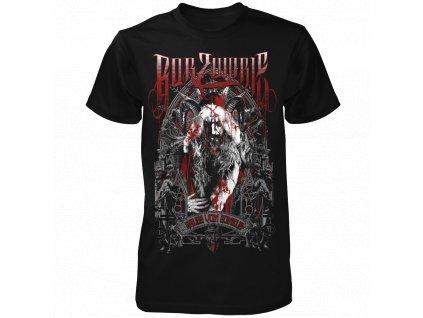 Pánske tričko Rob Zombie (Veľkosť XXL)