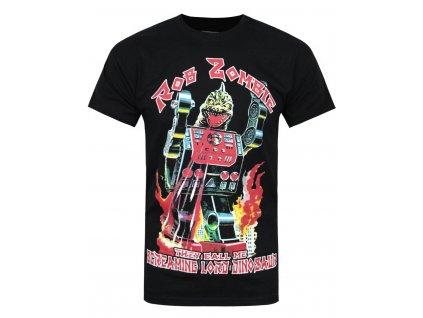 Pánske tričko Rob Zombie Lord Dinosaur (Veľkosť XXL)
