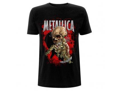 RTMTLTSBFIX Metallica Fixxxer Redux Black T Front