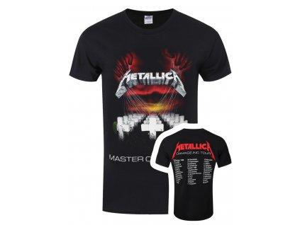 Pánske tričko Metallica MOP European Tour 86