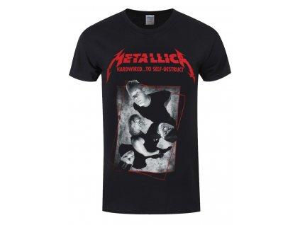Pánske tričko Metallica Hardwired Band Concrete