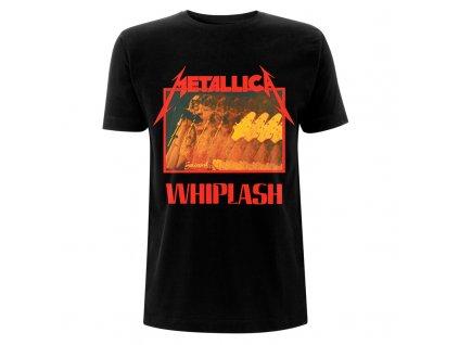 Metallica Whiplash Black T RTMTLTSBWHIP
