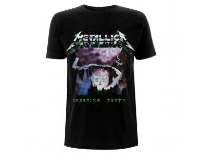 RTMTLTSBCRE Metallica Creeping Death Black T