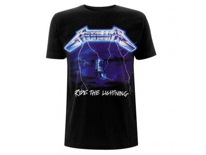 RTMTLEMPTSBRID Metallica EMP Ride The Lightening Black T Front