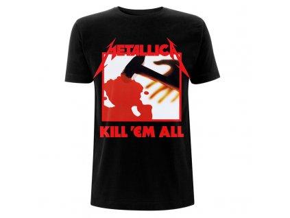 RTMTLEMPTSBKIL Metallica EMP Kill Em All Black T Front