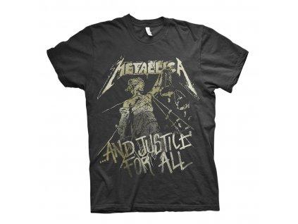 rtmtl143 metallica black justice vintage t