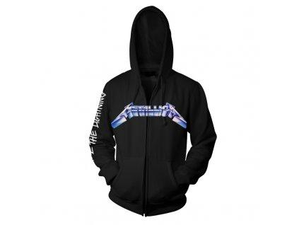 RTMTLEMPZHBRID Metallica EMP Ride The Lightening Black Zip Hood Front