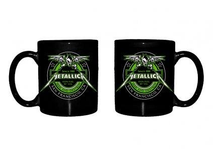 rtmtl104 metallica black fuel mug