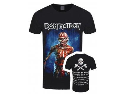 Pánske tričko Iron Maiden Europe Tour 2017