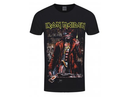 Pánske tričko Iron Maiden STRANGER SEPIA