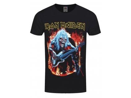 Pánske tričko Iron Maiden FEAR LIVE FLAMES