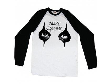 Pánske tričko s dlhým rukávom Alice Cooper (Veľkosť XXL)