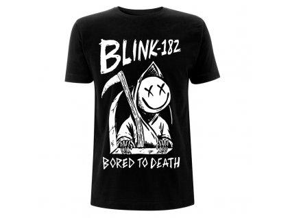 RTBLITSBBOR Blink 182 Bored To Death Black T