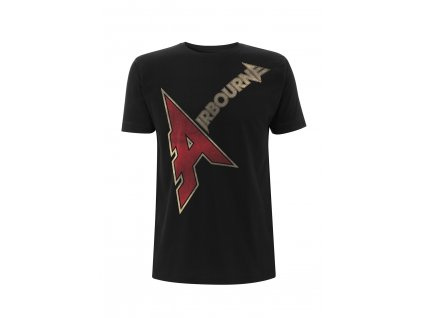 RTAIRTSBALO AIRBOURNE A LOGO BLACK T