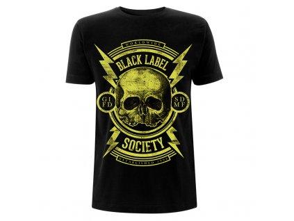 RTBLSTSBSKU BLS Skull Black T