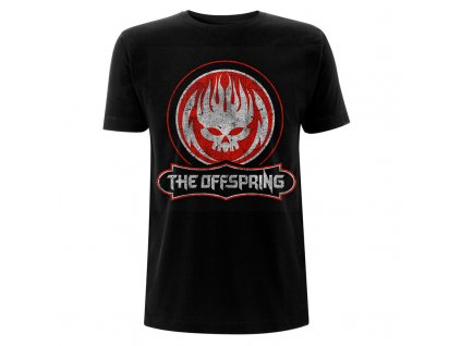 RTTOSTSBDIS The Offspring Distressed Skull Black T