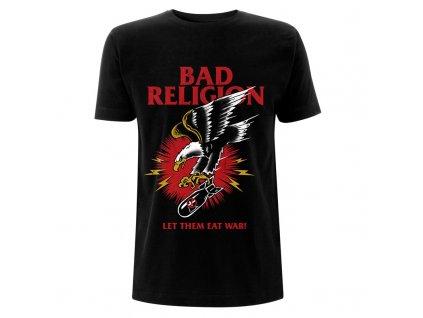 RTBADTSBBOM Bad Religion Bomber Eagle Black T
