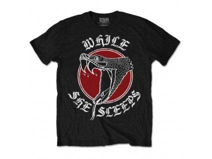 Pánske tričko While She Sleeps Snake (Veľkosť XXL)