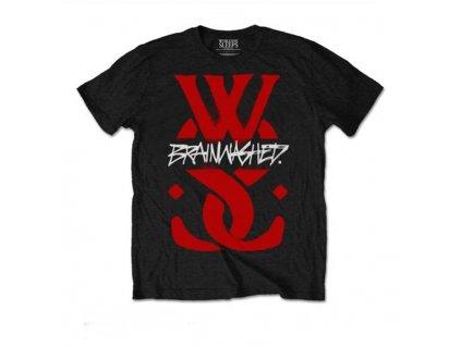 Pánske tričko While She Sleeps Brainwashed (Veľkosť XXL)