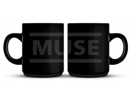 rtmus010 muse black logo mug 1