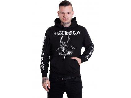 bathory goat hoodie lg
