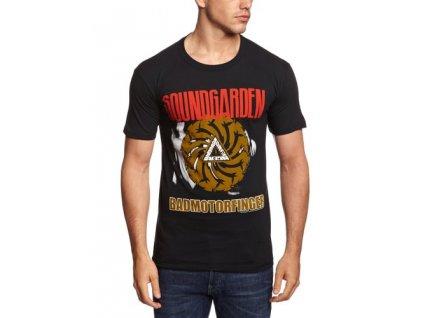 Pánske tričko Soundgarden Badmotor Finger Black (Veľkosť XXL)