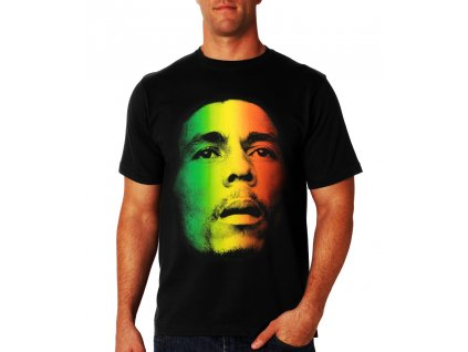 bob marley jamaican flag face t shirt 2
