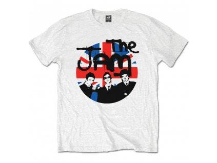 Pánske tričko The Jam Union Jack Circle (Veľkosť XXL)